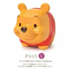 日本 DISNEY WINNIE THE POOH 陶瓷 豬仔錢罂 (L SIZE)