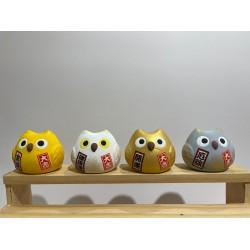 陶瓷貓頭鷹擺設(共4色)